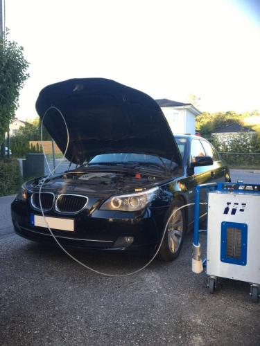 Bmw engine carbon cleaning